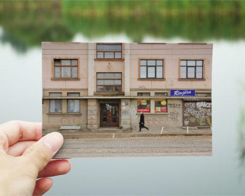 Skatkarte Nr. 1042-3 – Rīgas Sporta pils, Krišjāņa Barona iela 94A