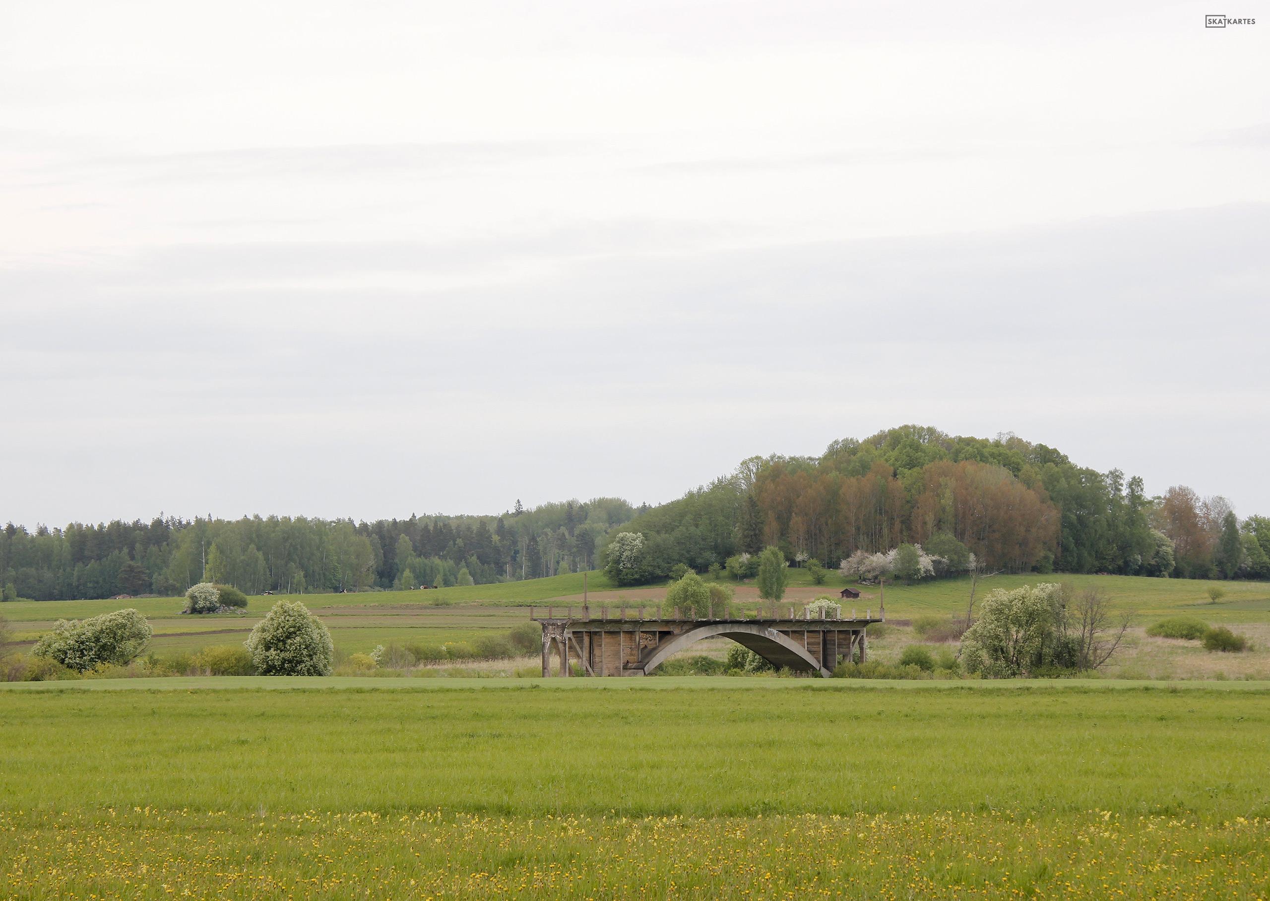 Skatkarte Nr. 1131 - Tilts uz nekurieni (2016. gada pavasaris).