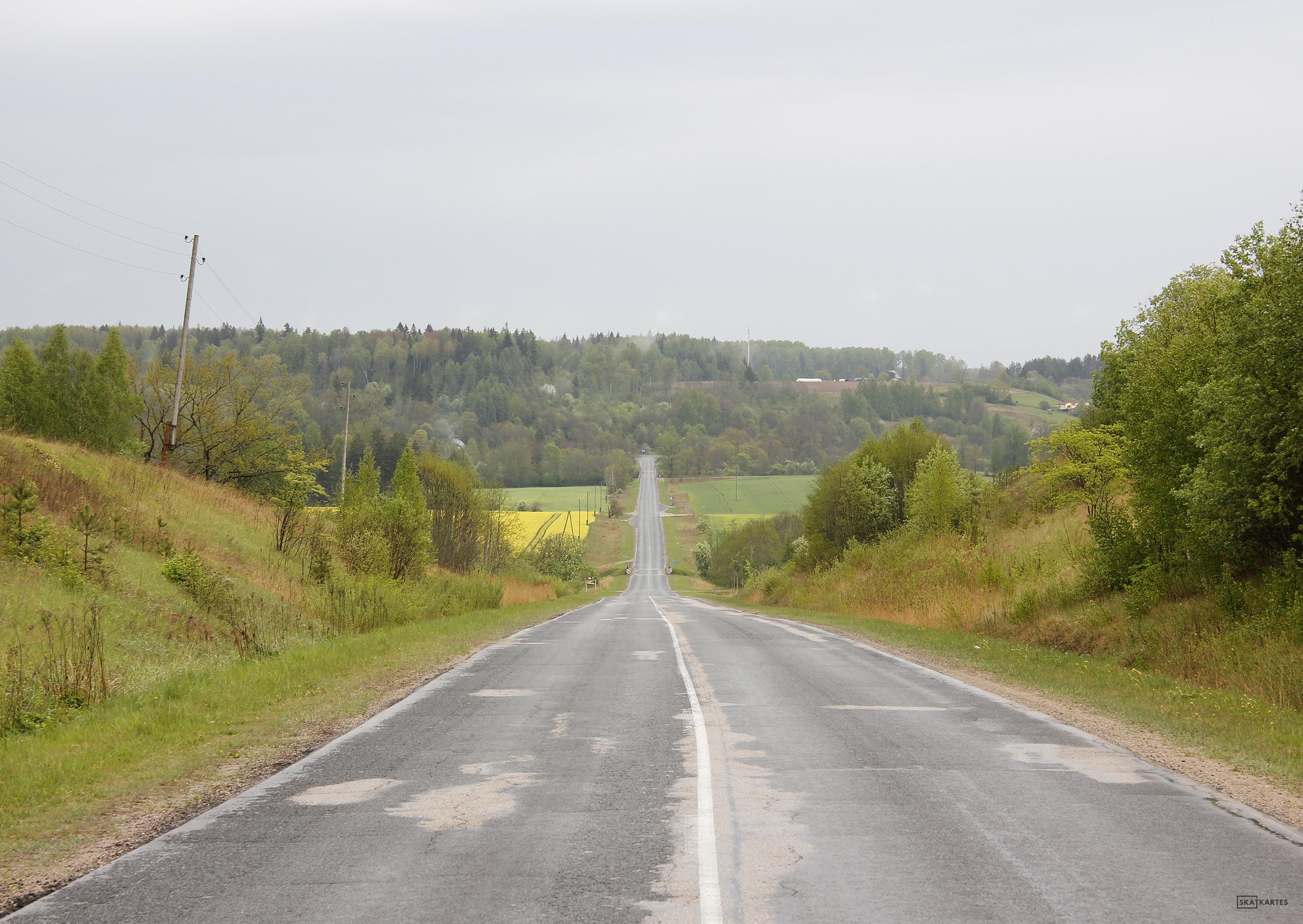 Skatkarte Nr. 1133 - Tilts uz nekurieni (2016. gada pavasaris).