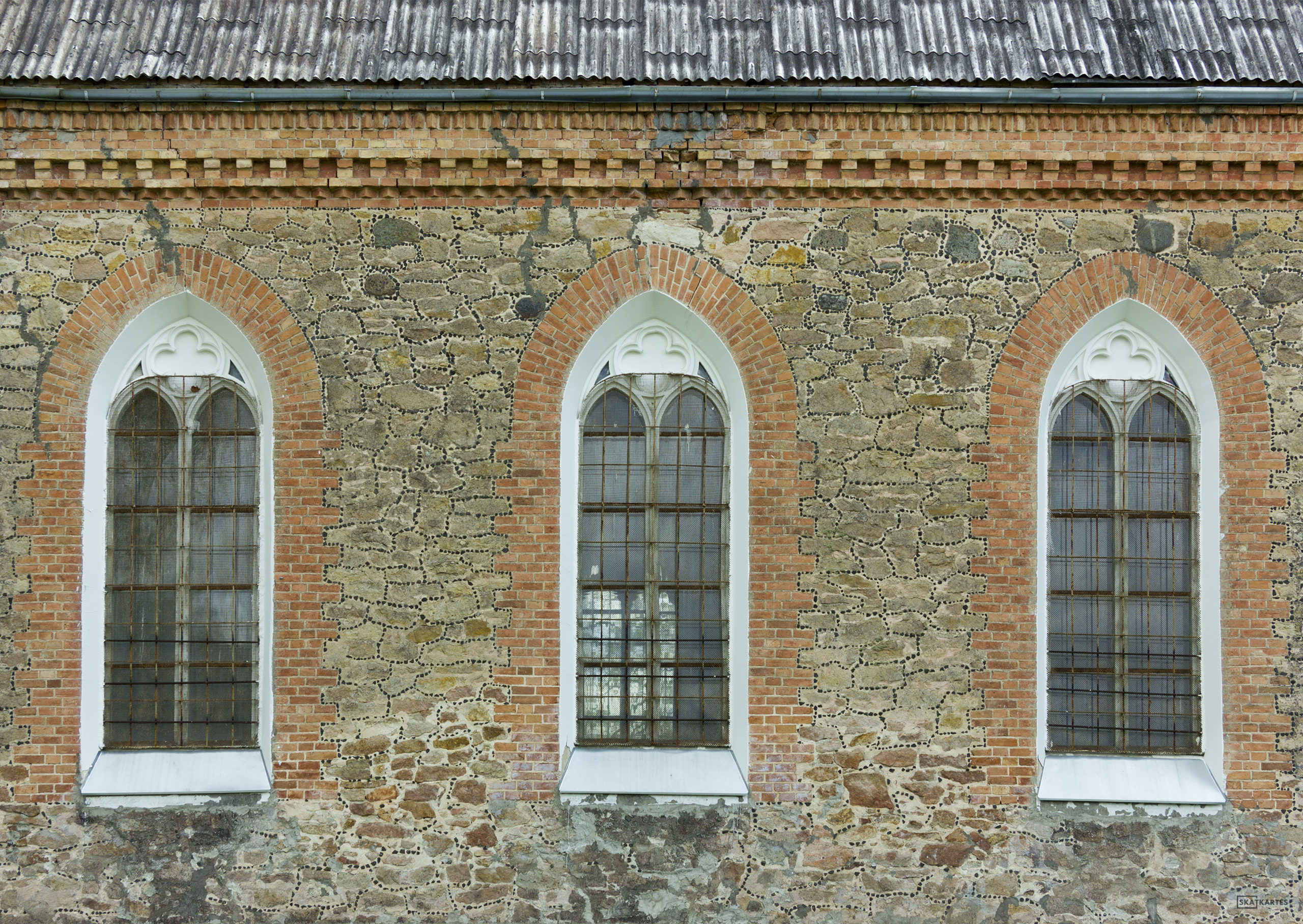 Skatkarte Nr. 1146 - Dalbes evanģēliski luteriskā baznīca (2015. gada maijs).