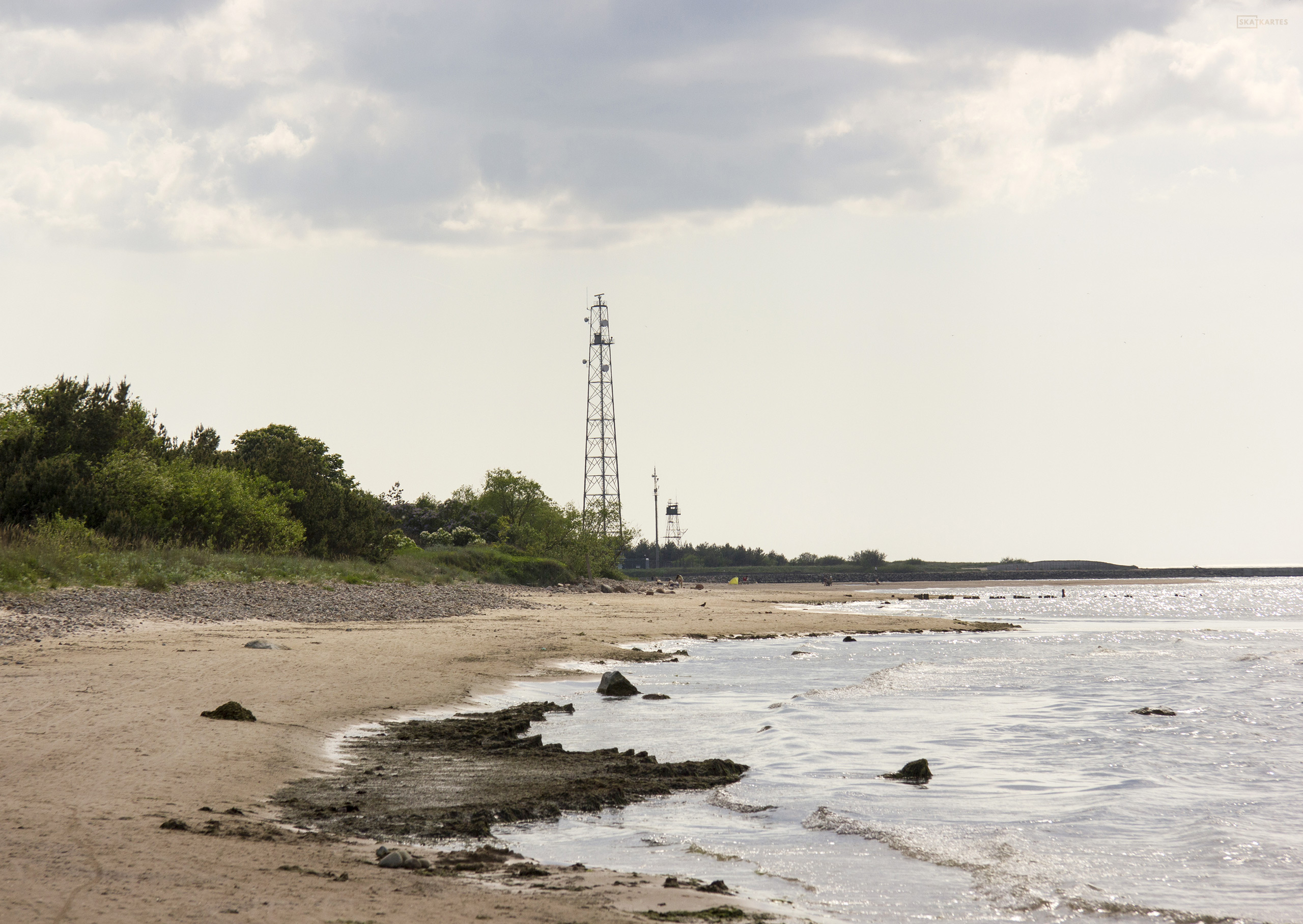 Skatkarte Nr. 1188 - Pāvilostas pludmale, GPS: 56.891833, 21.177382 (2016. gada maijs).